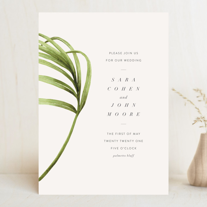 """palmetto"" - Wedding Invitations in Palmetto by kelli hall."