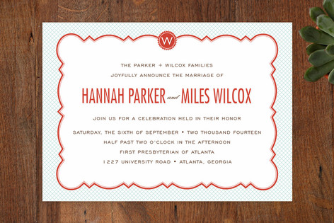 Parisian grammar school wedding invitations by cam minted parisian grammar school wedding invitations stopboris Images