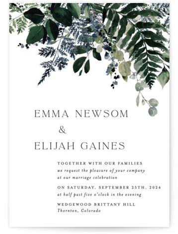 On and On Wedding Invitations
