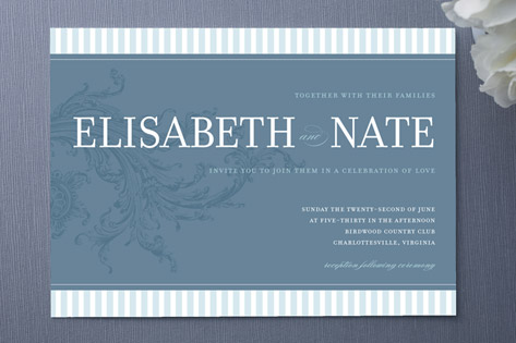 A Classic Love Wedding Invitations