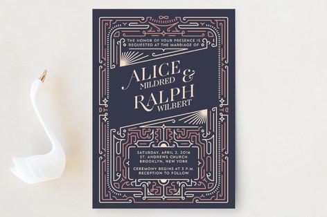 The Honeymooners Wedding Invitations