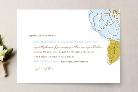 Simple Sophisticate Wedding Invitations