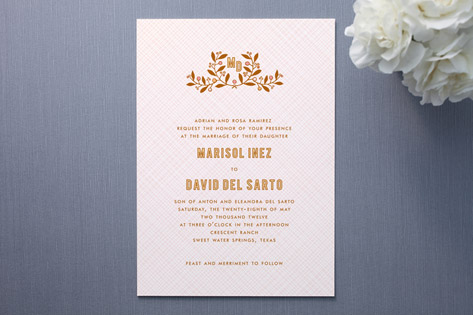 Smitten Wedding Invitations