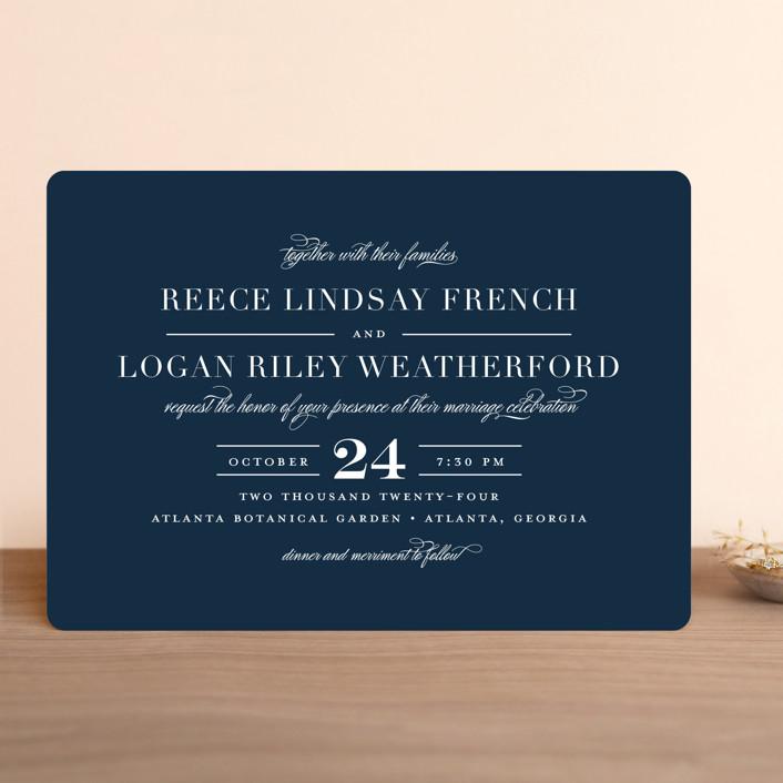 classical wedding invitationsjessica williams  minted