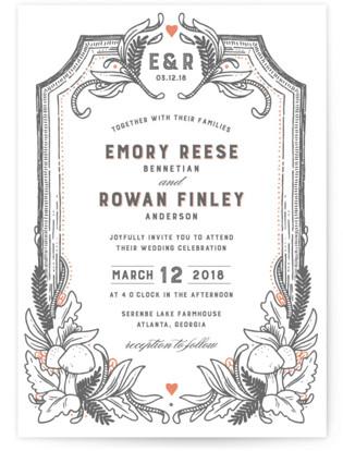Fairytale Frame Wedding Invitations