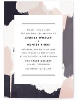 Artistic Union Wedding Invitations