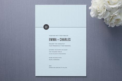 CLASSIC DUSK Wedding Invitations