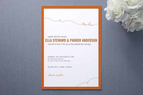 True Love Wedding Invitations