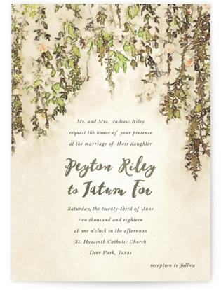 English Countryside Wedding Invitations