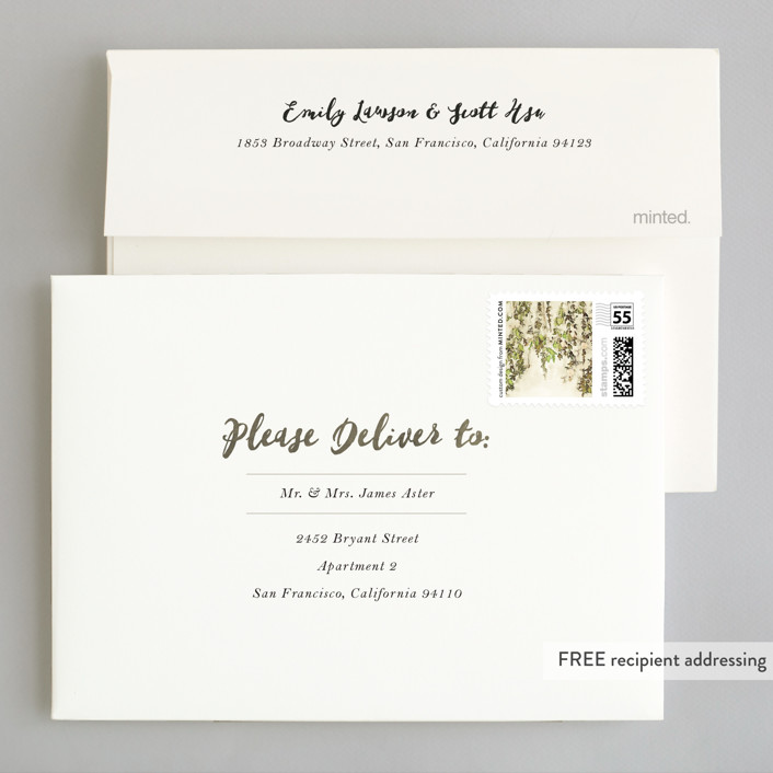 English countryside wedding invitations by design lotus minted invitation suite free wedding website envelope design stopboris Image collections