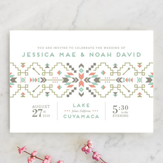 Santa Fe Dream Wedding Invitations