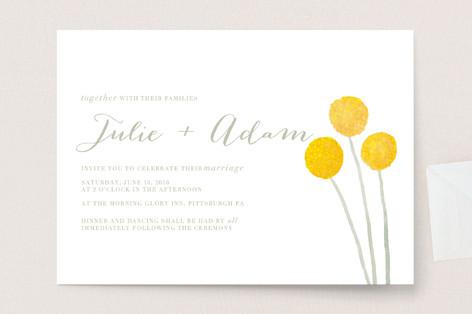 Billy Ball Wedding Invitations