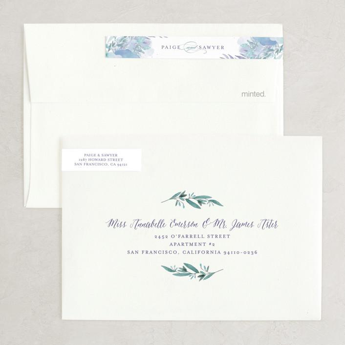 Rexcraft Wedding Invitations: Big Blooms Wedding Invitations By Grace Kreinbrink