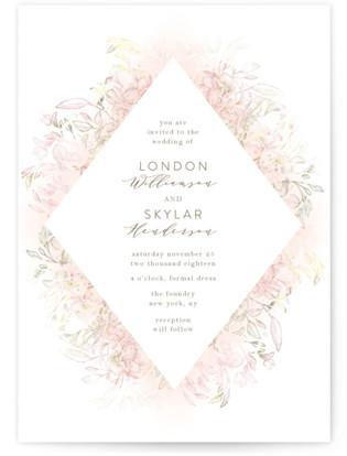 Pastel Dream Wedding Invitations
