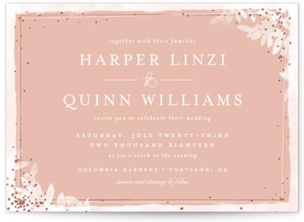 Midsummer Romance Wedding Invitations
