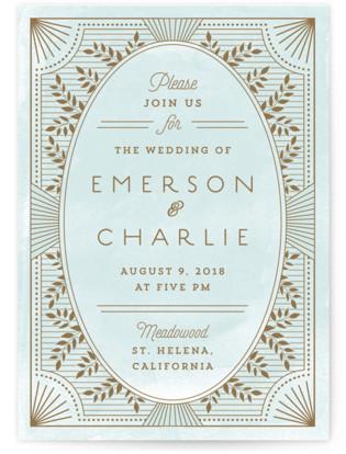 Elegant Lines Wedding Invitations