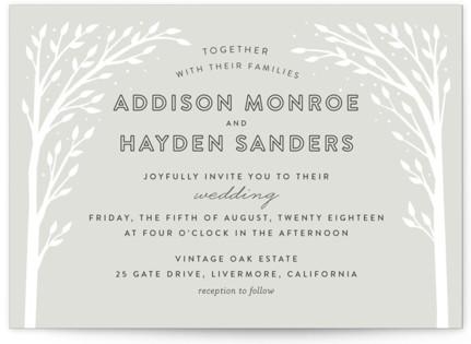 Woodland Dream Wedding Invitations