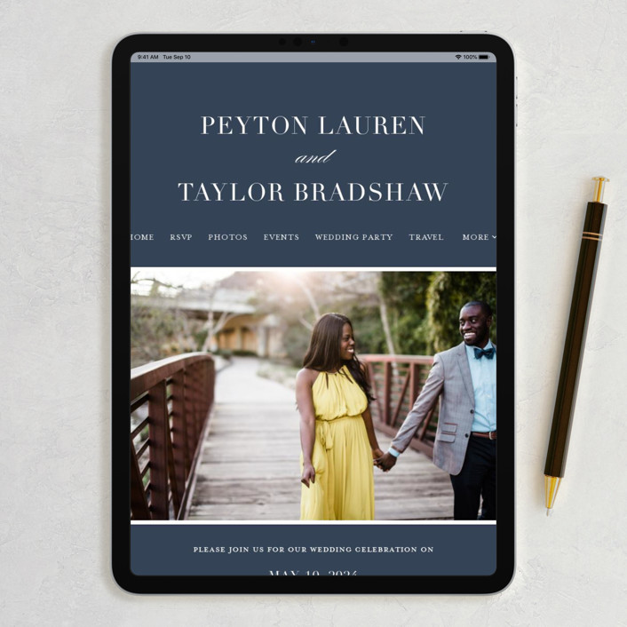 Best Website For Wedding Invitations: Classic Wedding Invitations By Lauren Chism