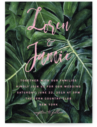 photo of Paradise Wedding Invitations