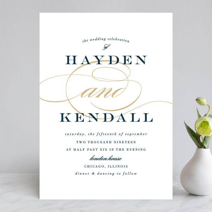 """""""Sullavan"""" - Wedding Invitations in Teal by carly reed walker."""
