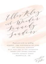 Sophisticated script Wedding Invitations By Hooray Creative