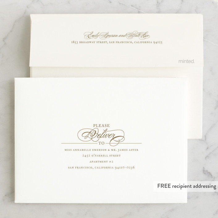 Wedding Invitations Dayton Ohio: Aqueous Wedding Invitations By Jennifer Postorino