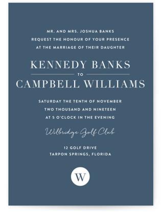 Wedding Stamp Wedding Invitations