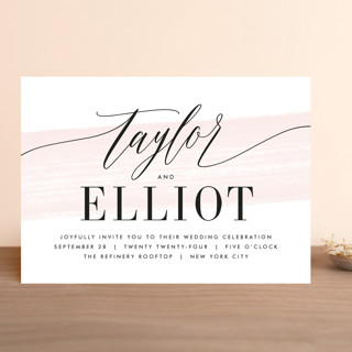 Effervescent Wedding Invitations