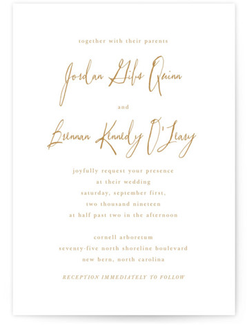 Pastoral Wedding Invitations