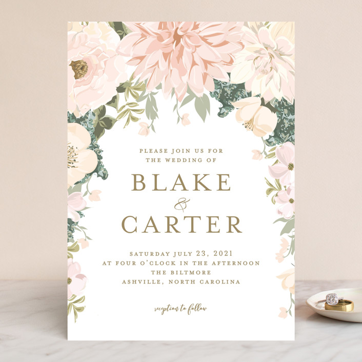 Outdoor Wedding Invitations: Garden Wedding Wedding Invitations By Susan Moyal
