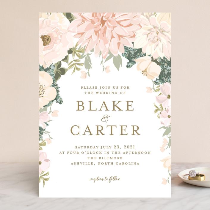 Garden Wedding Wedding Invitations by Susan Moyal | Minted