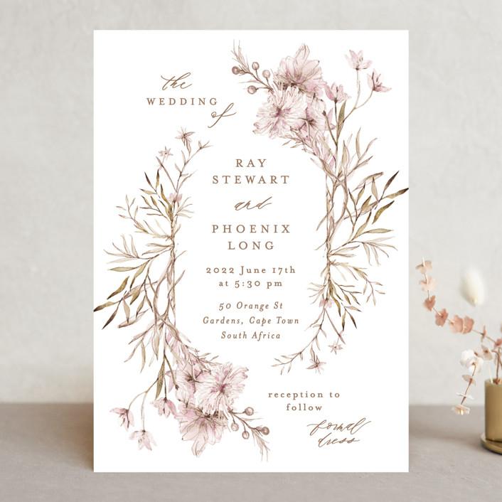 """ring box"" - Wedding Invitations in Sunset by Phrosne Ras."