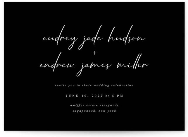 mod Wedding Invitations