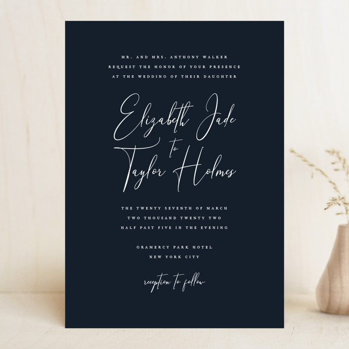 Wedding Invitations Dayton Ohio: Desire Wedding Invitations By Jennifer Postorino