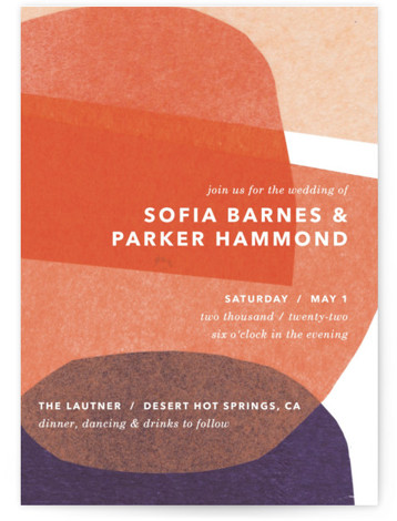 tissue texture Wedding Invitations