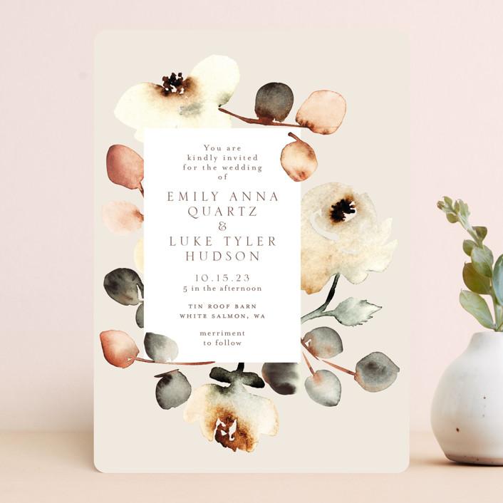 """Bella Mia"" - Wedding Invitations in Autumn by Petra Kern."
