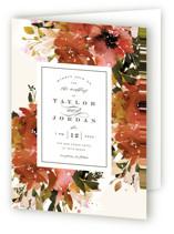 Eden Four-Panel Wedding Invitations