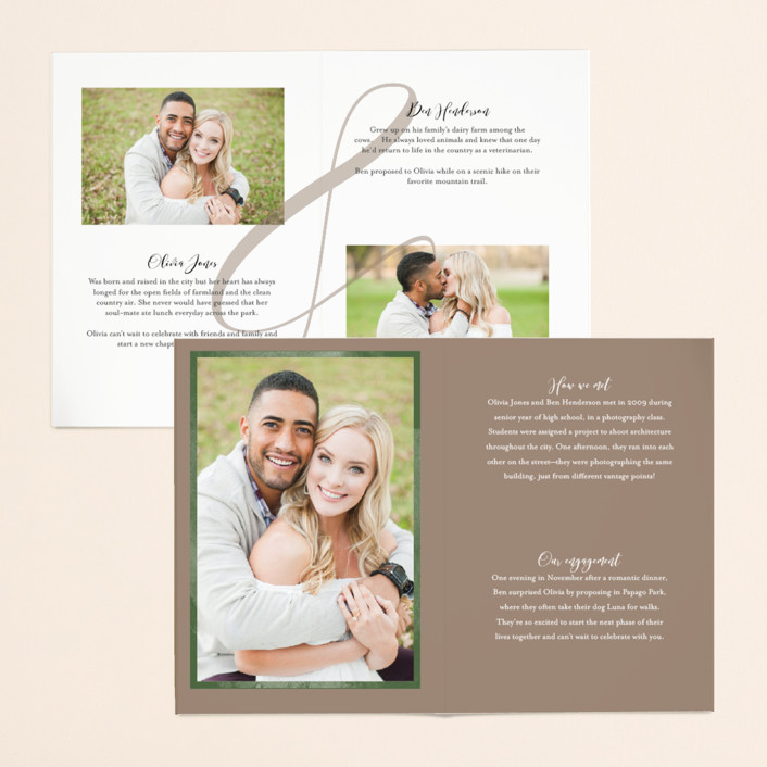 Minted Four-panel Invitation 2