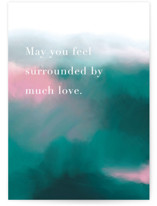 This is a green sympathy card by iamtanya called Crazy in Love with standard printing on signature in greeting cards.