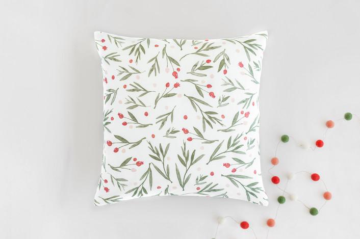 .Winter Harvest Throw Pillow