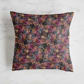 This is a purple pillow by Lori Wemple called Fantasy.