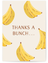 This is a white greeting card by Erica Krystek called Bunches & Bunches with standard printing on signature in greeting cards.