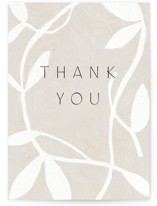 This is a grey greeting card by Amy Kross called Thankful Branch with standard printing on signature in greeting cards.