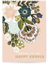 This is a colorful wedding card by Alethea and Ruth called Flower Bouquet with standard printing on signature in greeting cards.