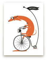 Cycling Sausage by Kayla King