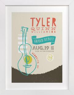 Concert Poster Children's Custom Art Print