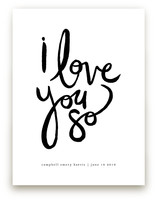 I Love You So Art Prints