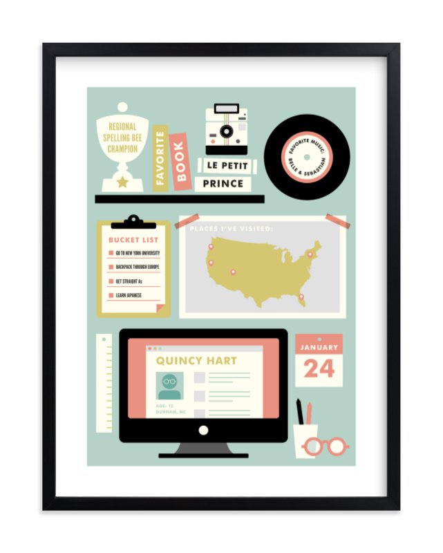 """""""Workstation"""" - Children's Custom Art Print by kat bison in beautiful frame options and a variety of sizes."""