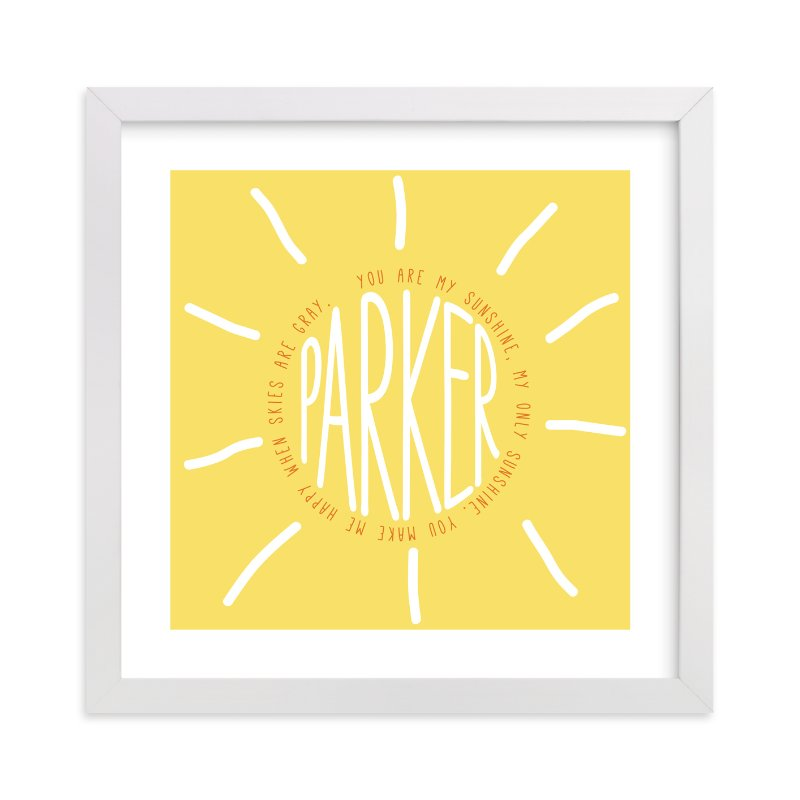 You Are My Sunshine Custom Art Prints By Refound Nostalgia Minted