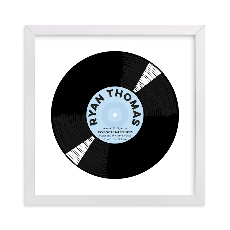 """""""For the Record"""" - Children's Custom Art Print by Baumbirdy in beautiful frame options and a variety of sizes."""